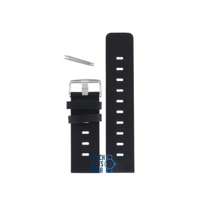 Fossil Fossil JR8251 Watch Band Black Leather 26 mm