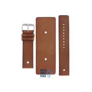 Fossil Fossil JR8255 Watch Band Brown Leather 22 mm