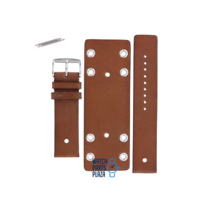 Fossil Fossil JR8285 Watch Band Brown Leather 22 mm