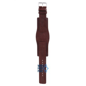 Fossil Fossil JR8293 Watch Band Brown Leather 22 mm