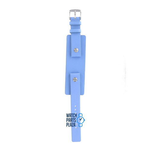 Fossil Fossil JR8294 Watch Band Blue Leather 16 mm