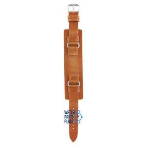 Fossil Fossil JR8300 Horlogeband Lichtbruin Leer 16 mm