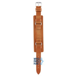 Fossil Fossil JR8300 Watch Band Light Brown Leather 16 mm
