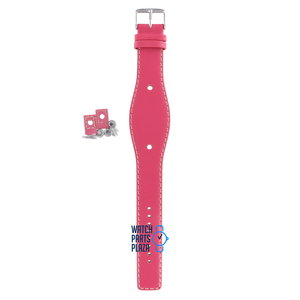 Fossil Fossil JR8302 Watch Band Pink Leather 09 mm