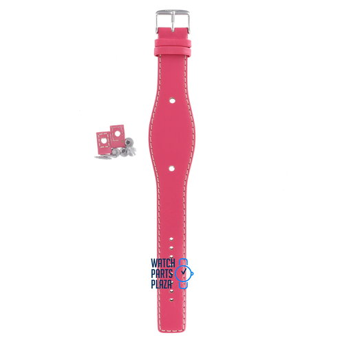 Fossil Fossil JR8302 Horlogeband Roze Leer 09 mm