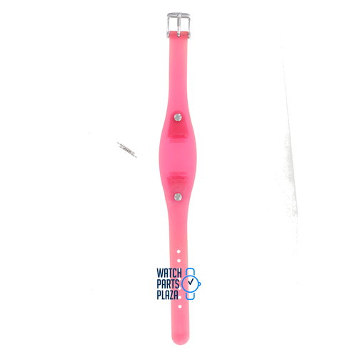 Fossil Fossil JR8342 Watch Band Pink Silicone 12 mm