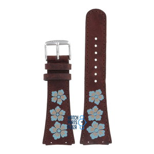 Fossil Fossil JR8348 Watch Band Brown Leather 21 mm