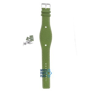 Fossil Fossil JR8364 Watch Band Green Leather 09 mm