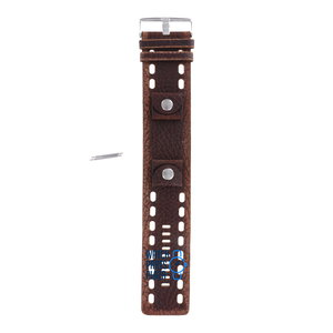 Fossil Fossil JR8372 Watch Band Brown Leather 24 mm