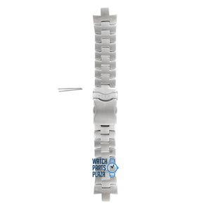 Fossil Fossil JR8373 Horlogeband Grijs Roestvrijstaal 08 mm