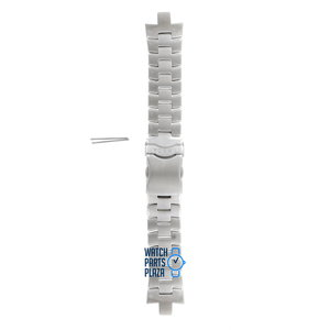 Fossil Fossil JR8373 Watch Band Grey Stainless Steel 08 mm