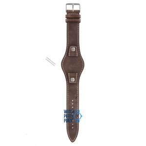 Fossil Fossil JR8381 Watch Band Brown Leather 18 mm