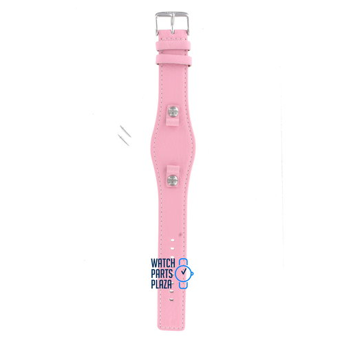 Fossil Fossil JR8479 Watch Band Pink Leather 14 mm
