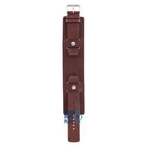 Fossil Fossil JR8503 Eagle Display Watch Band Brown Leather 18 mm