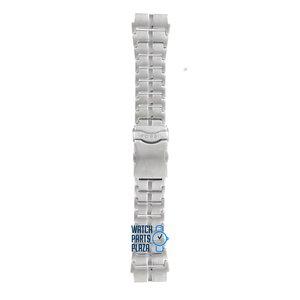 Fossil Fossil JR8533 Davis Cup Horlogeband Grijs Roestvrijstaal 22 mm