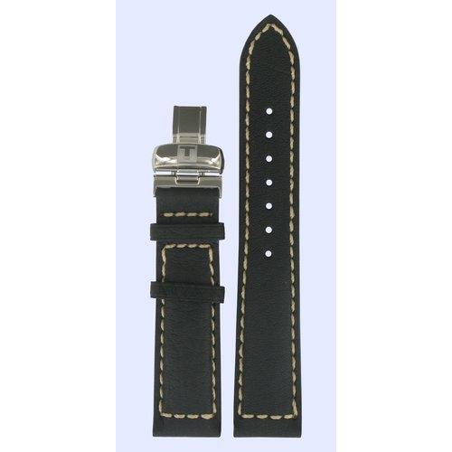 Tissot Tissot T96142852 T-Touch Uhrenarmband Schwarz Leder 20 mm
