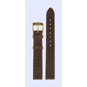 Tissot Tissot T7133 & T7123 Uhrenarmband Braun Leder 13 mm