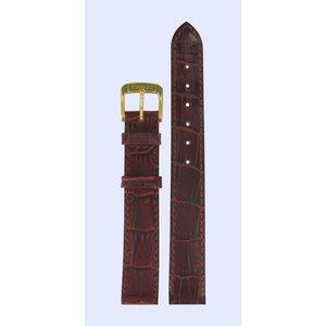 Tissot Tissot T7133 & T7123 Uhrenarmband Burgunder Leder 13 mm