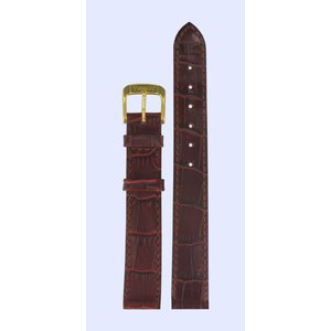 Tissot Tissot T7133 & T7123 Watch Band Bordeaux Leather 13 mm