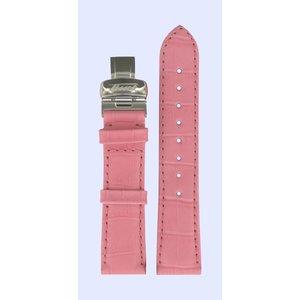 Tissot Tissot T66164702 Heritage Horlogeband Roze Leer 18 mm