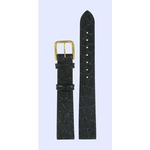 Tissot Tissot T52512 T-Classic Horlogeband Zwart Leer 14 mm