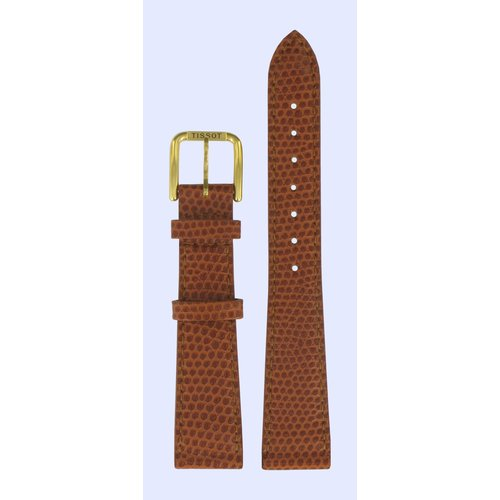 Tissot Tissot A280 / A282 Watch Band Brown Leather 18 mm