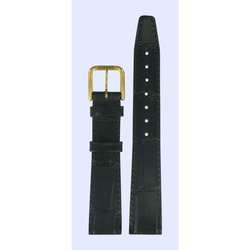 Tissot Tissot T85972225 Horlogeband Zwart Leer 17 mm
