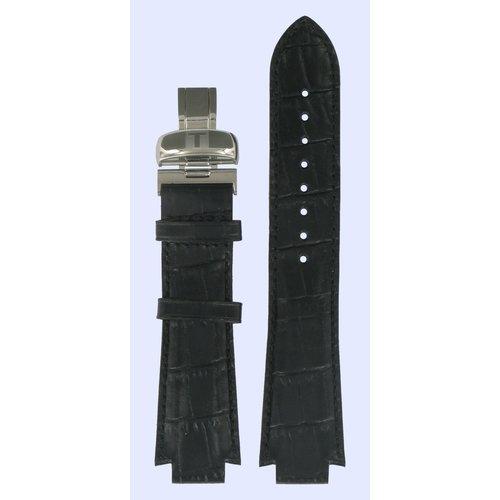 Tissot Tissot L860/960K -  T-Trend Horlogeband Zwart Leer 13 mm