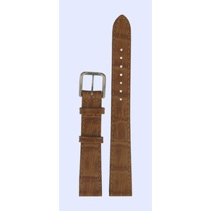 Tissot Tissot T2111, T2112, T2121 & T2122 Watch Band Brown Leather 14 mm