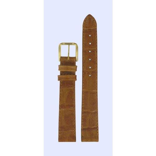 Tissot Tissot T42511113 Horlogeband Bruin Leer 14 mm