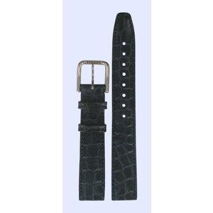 Tissot Tissot T23211121 Watch Band Dark Blue Leather 15 mm