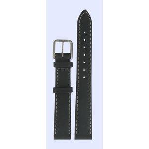 Tissot Tissot J326/426 T-Classic Watch Band Black Leather 14 mm