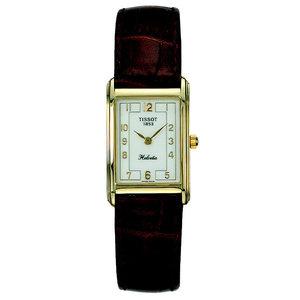 Tissot Tissot T71330812 & T71230813 XL Uhrenarmband Dunkelblau Leder 15 mm