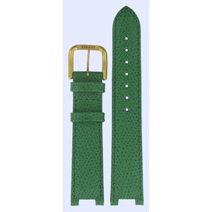 Tissot Tissot V136/236 Horlogeband Groen Leer 08 mm