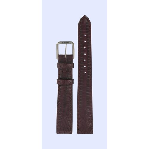 Tissot Tissot T42111143 Horlogeband Bordeaux Leer 14 mm