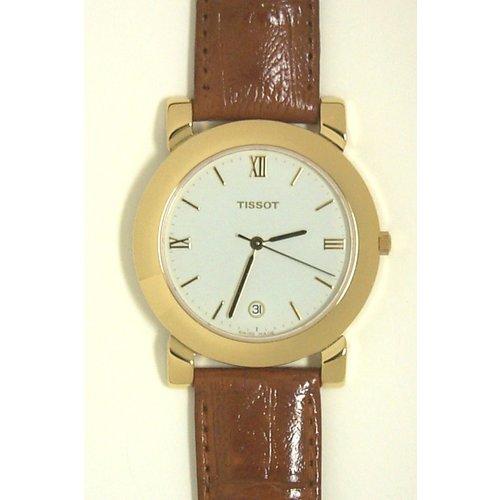 Tissot Tissot T42541113 XL Uhrenarmband Grün Leder 18 mm