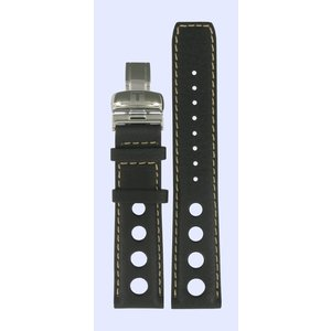 Tissot Tissot J562 / 662 - PRS516 Uhrenarmband Dunkelbraun Leder 20 mm