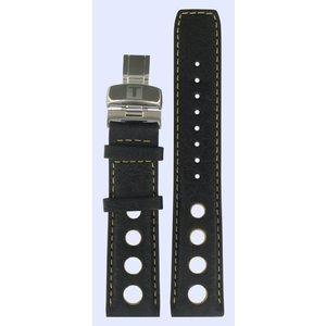 Tissot Tissot J562/662 T-Touch Uhrenarmband Schwarz Leder 20 mm