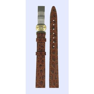 Tissot Tissot T49682513 Watch Band Brown Leather 12 mm