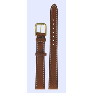 Tissot Tissot T27521121 Watch Band Brown Leather 12 mm
