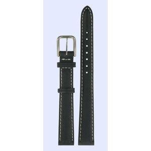 Tissot Tissot T27221113 Watch Band Black Leather 12 mm