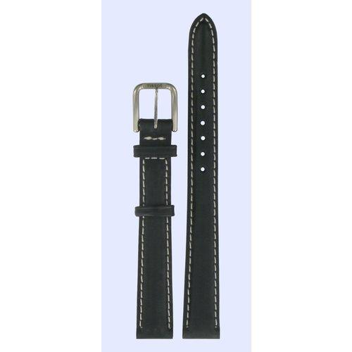 Tissot Tissot T27221113 Horlogeband Zwart Leer 12 mm