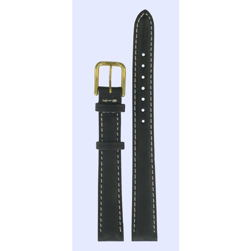 Tissot Tissot T27521121 Watch Band Black Leather 12 mm