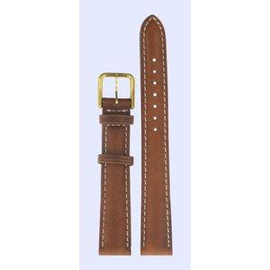 Tissot Tissot T27511113 Horlogeband Bruin Leer 14 mm