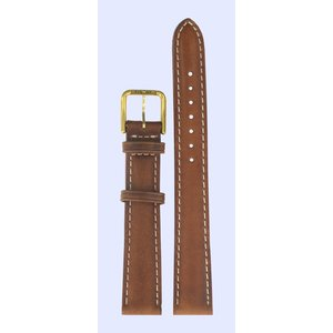 Tissot Tissot T27511113 Watch Band Brown Leather 14 mm