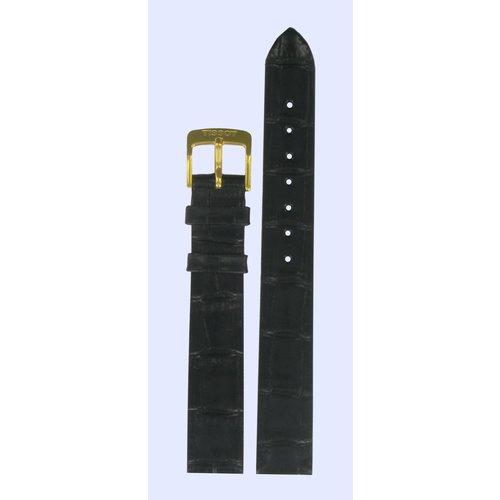 Tissot Tissot T7121 & T7131 Horlogeband Zwart Leer 13 mm