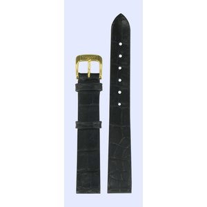 Tissot Tissot T600013350 Watch Band Black Leather 14 mm