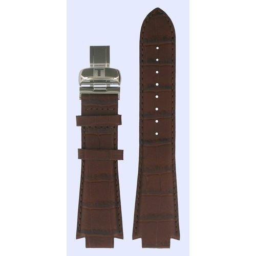 Tissot Tissot L864/964 - L875/975 & L874/974 Watch Band Brown Leather 14 mm