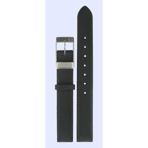 Tissot Tissot L830N Lady T5 Horlogeband Zwart Leer 12 mm