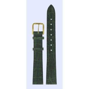 Tissot Tissot T67525521 Watch Band Green Leather 14 mm
